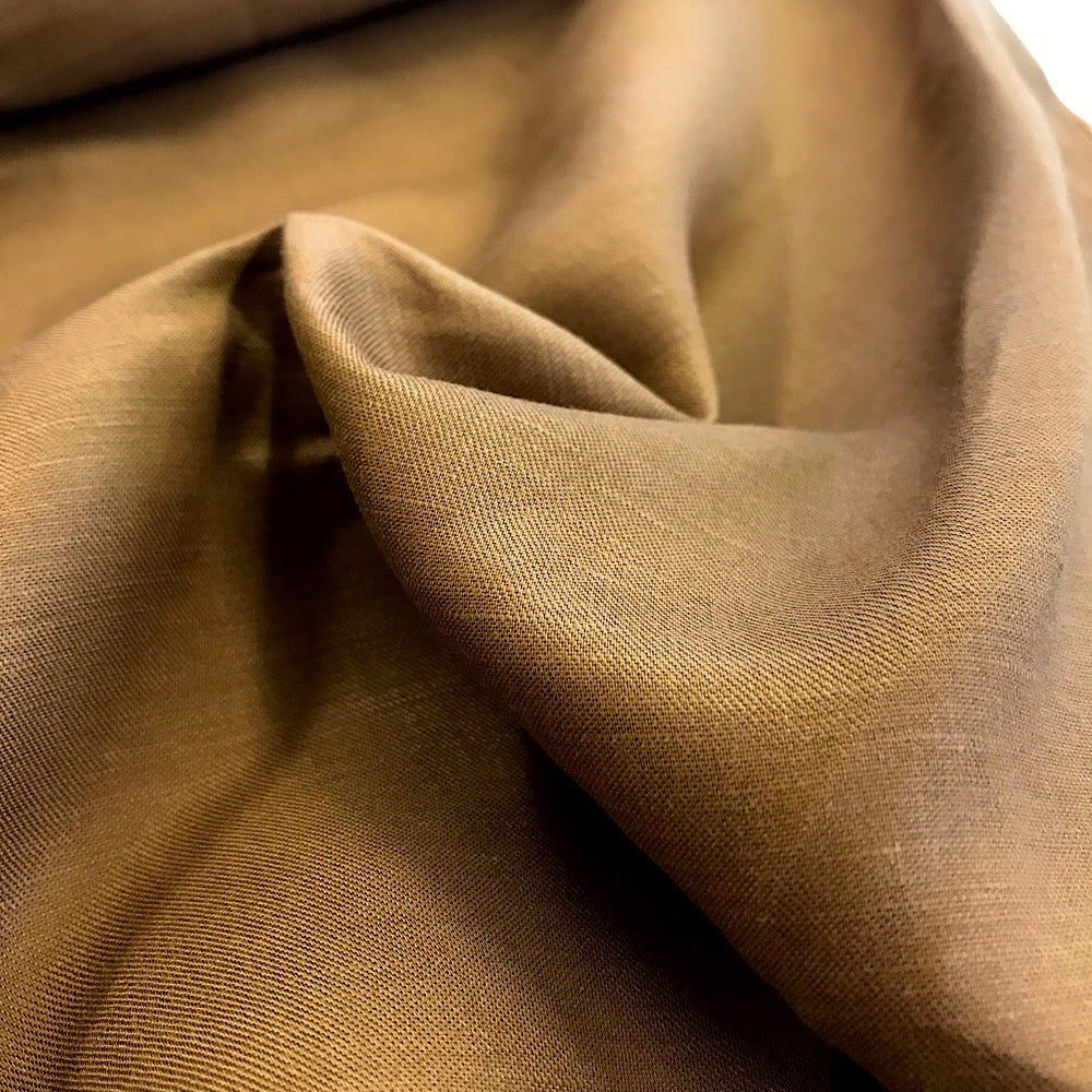 50% tencel + 50% linen - 'Copper'