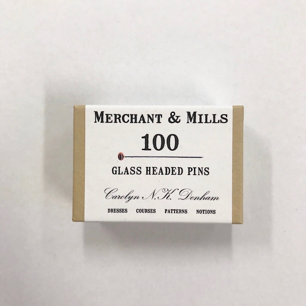 Merchant & Mills - Glass Headed Pins