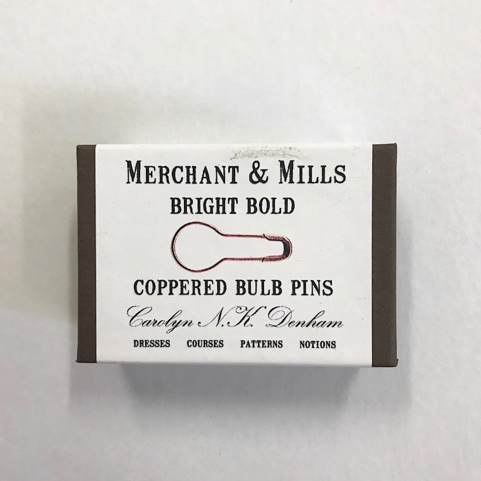 Merchant and Mills - Coppered Bulb Pins