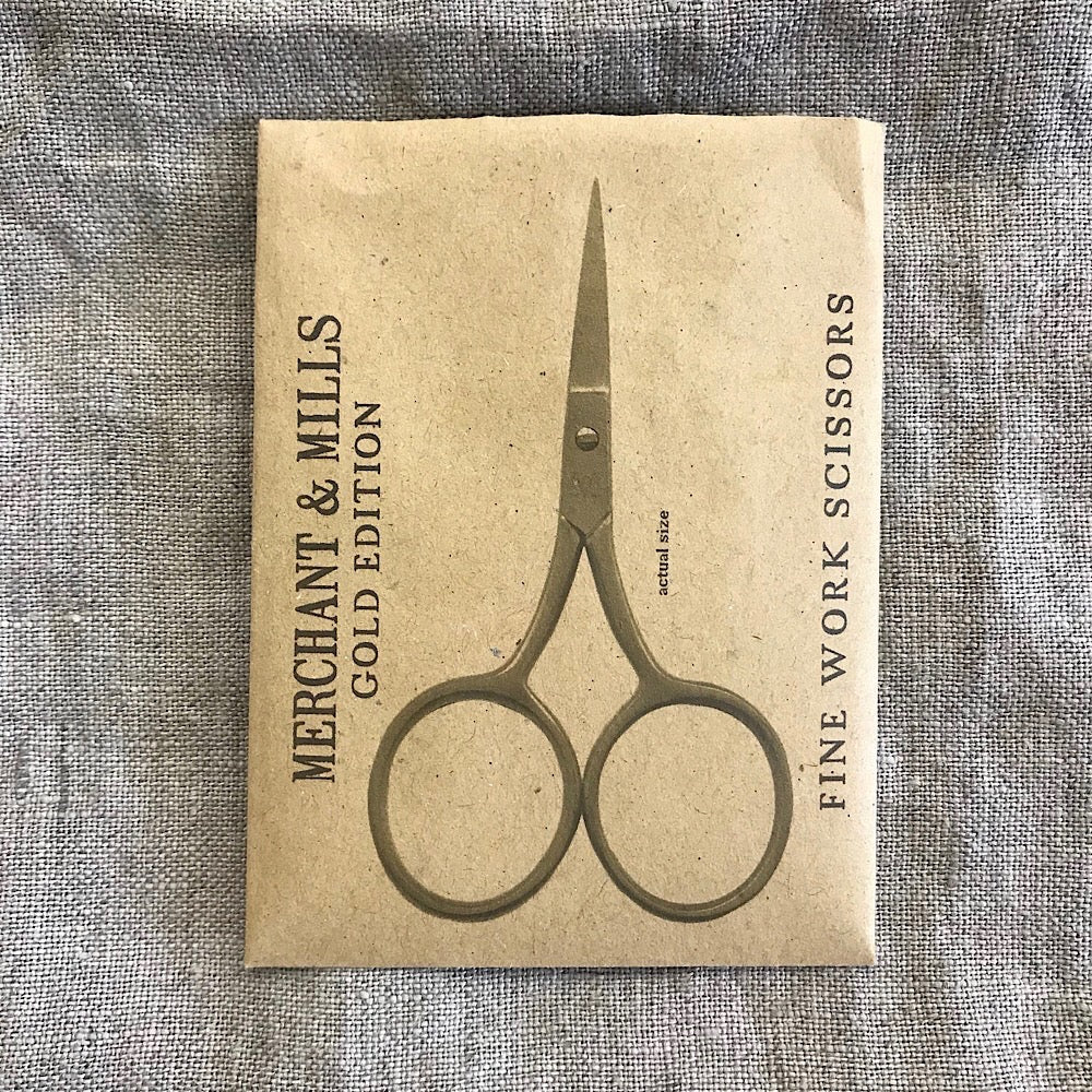 Fine Work Scissors, Gold Edition - Merchant and Mills