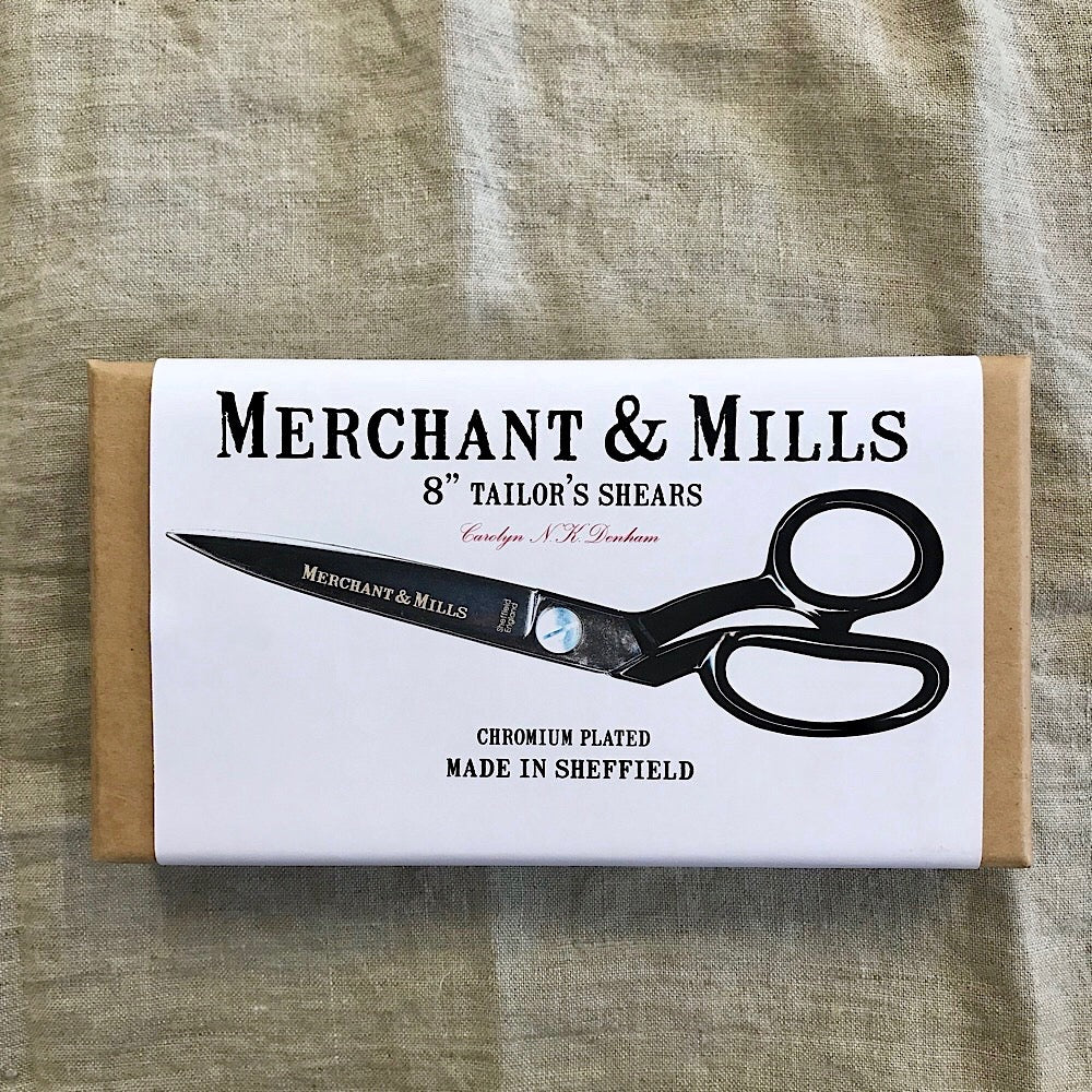 8 Inch Tailors Shears - Merchant and Mills