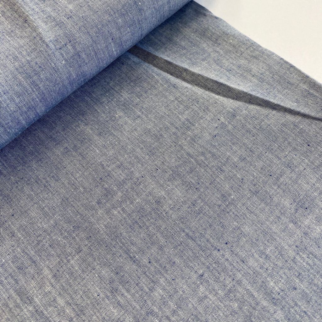 100% cotton Japanese fine chambray - Stratus