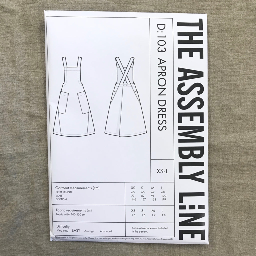 Apron Dress pattern - The Assembly Line
