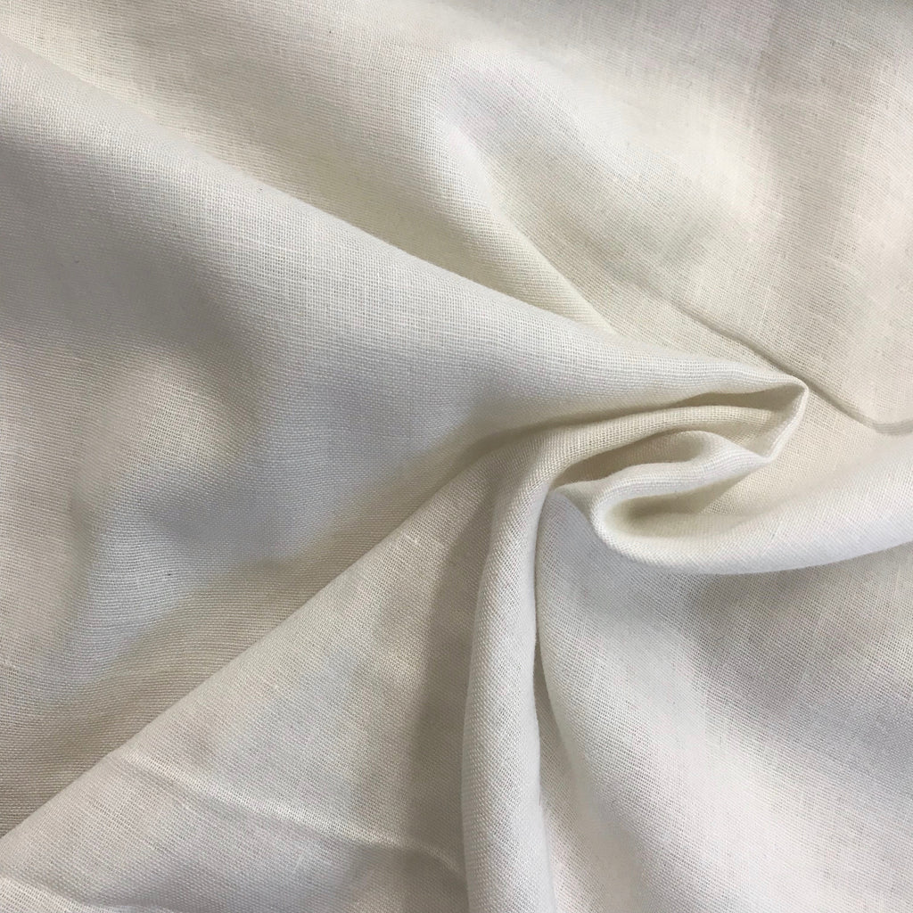 100% cotton double gauze, made in Japan - Cream