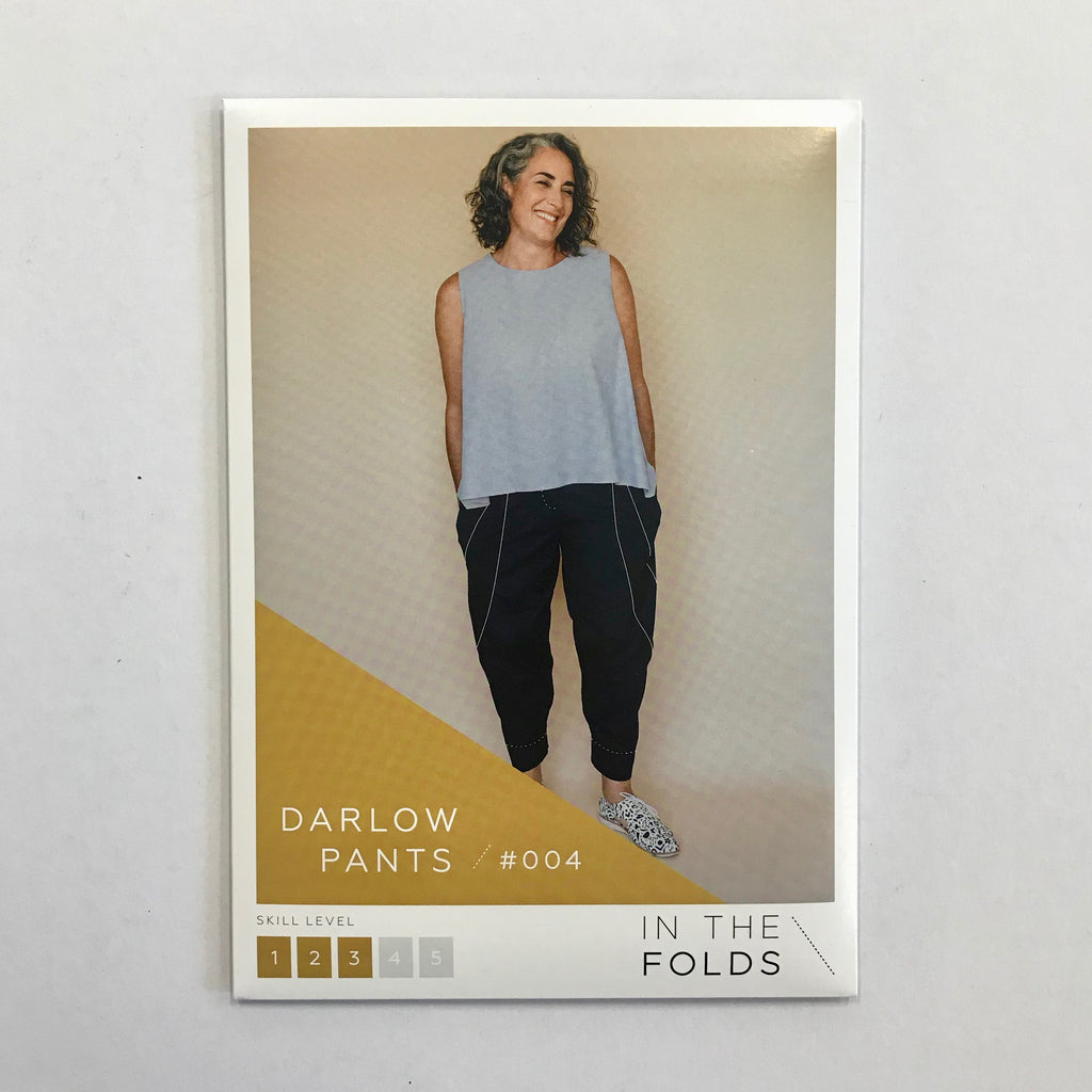 The Darlow Pants pattern by In the Folds