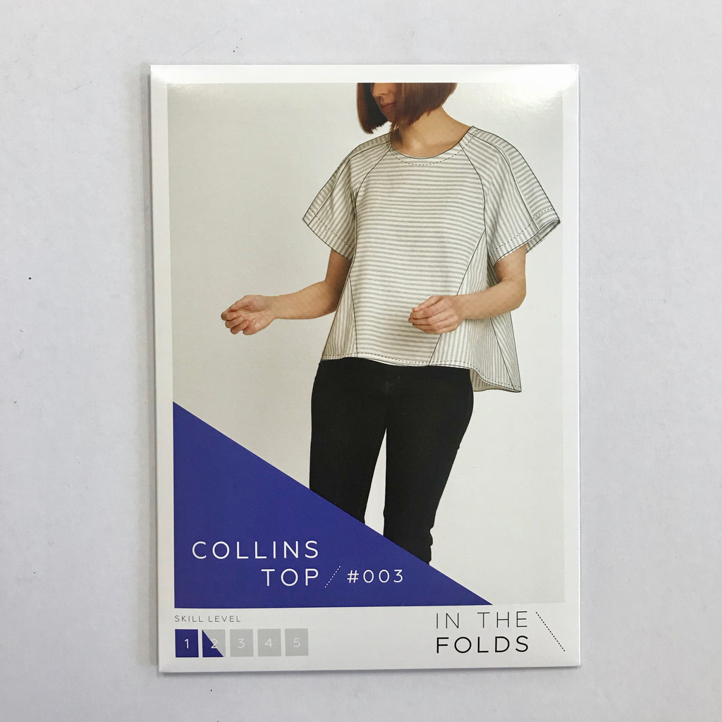 The Collins Top pattern by In the Folds