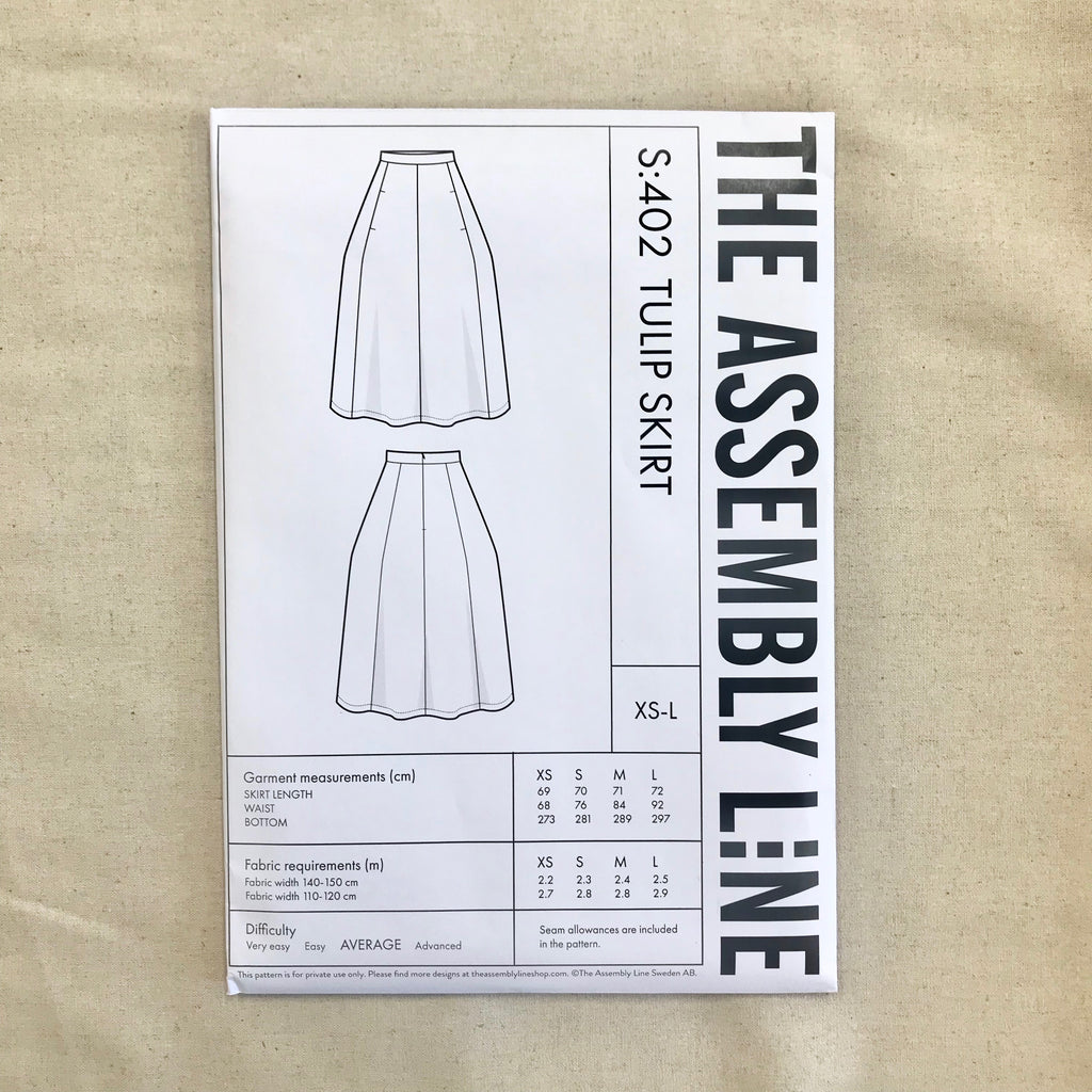 Tulip Skirt pattern - The Assembly Line