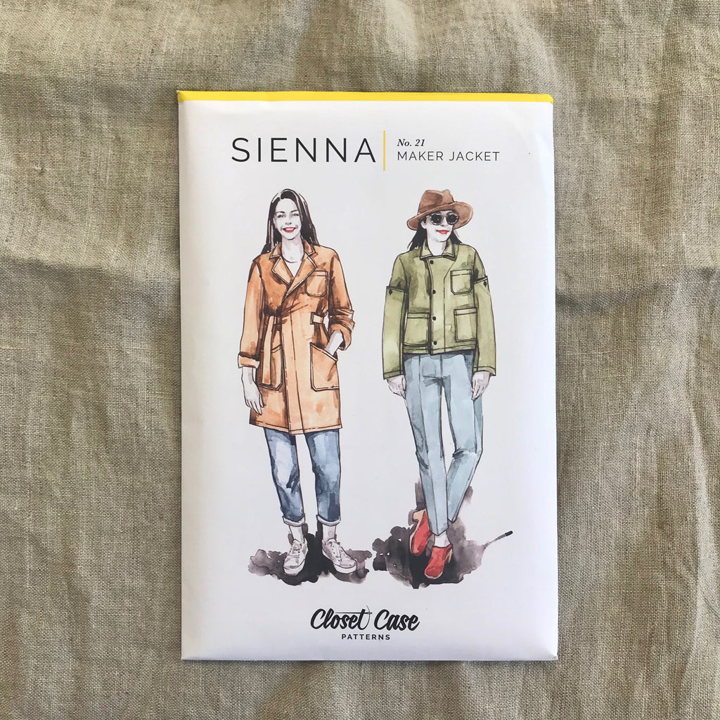 Closet Case Sienna Maker Jacket pattern