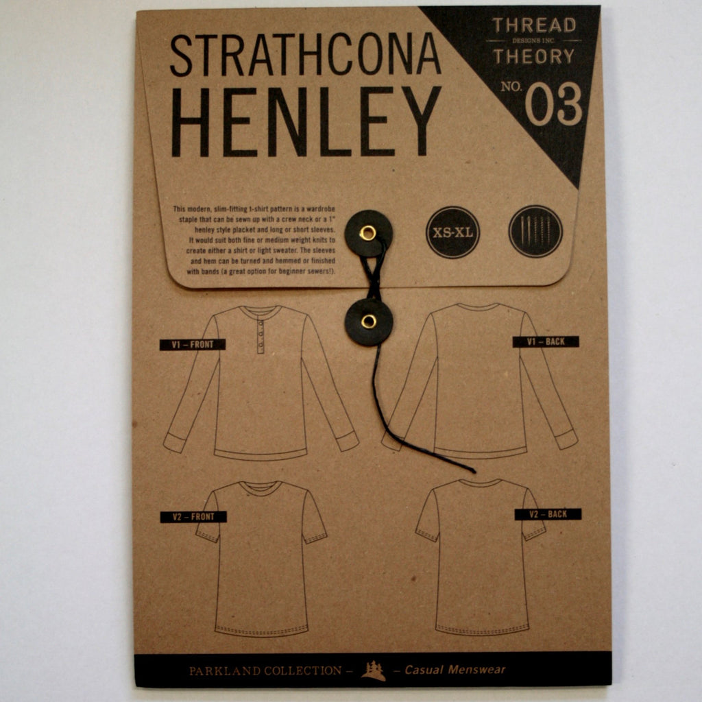 Thread Theory Men's Patterns- Goldstream Peacoat, Comox Trunks, Finlayson Sweater, Strathcona Henley