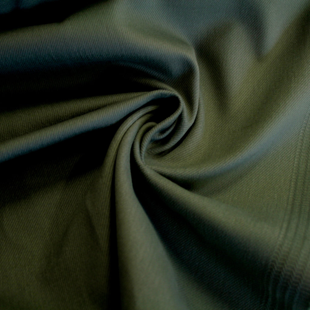 Yarn-dyed Japanese Stretch Twill - Tarragon