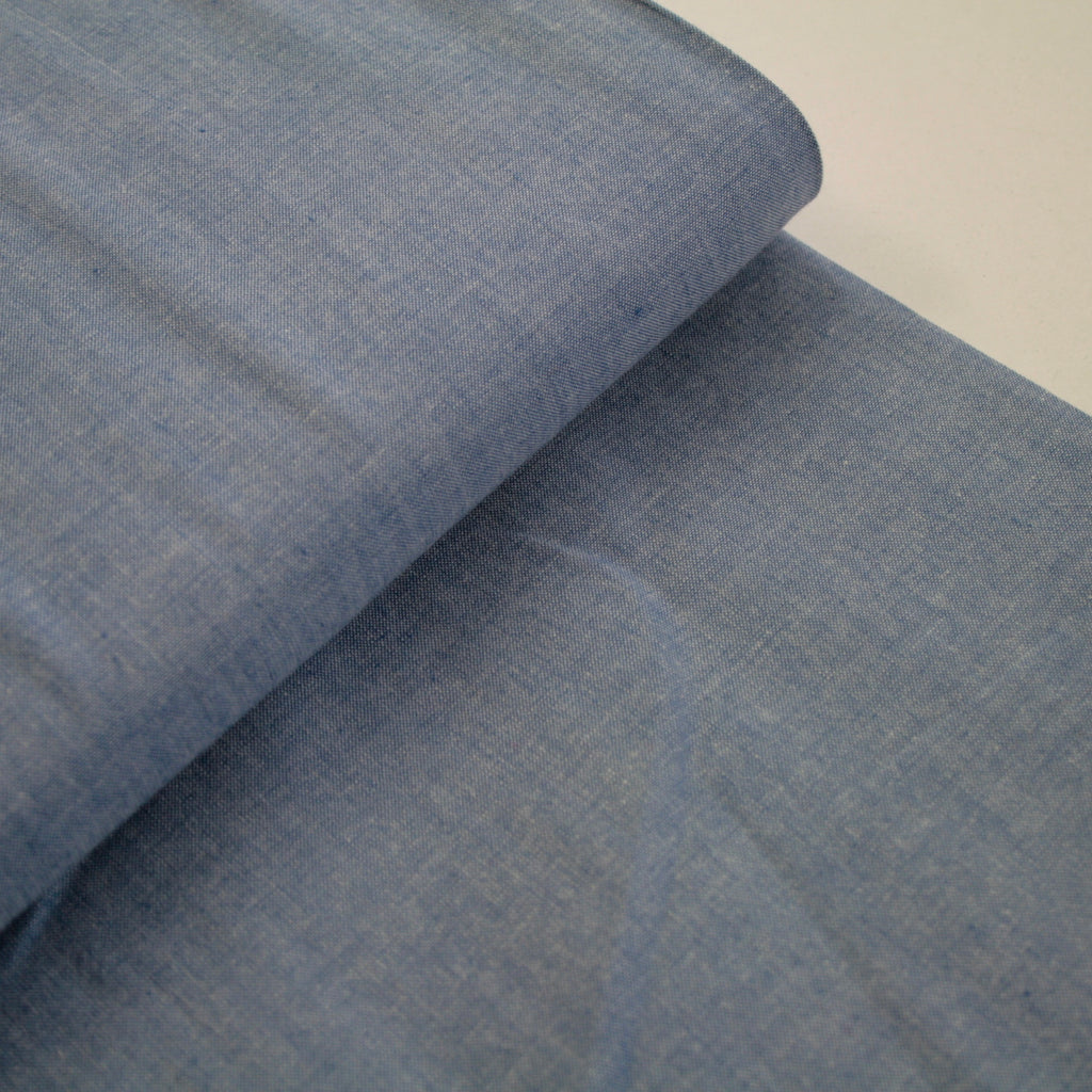 100% cotton chambray by Moda - Blue Whale