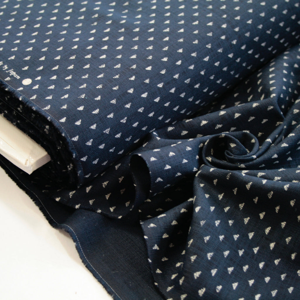 100% cotton Japanese textured indigo cloth - This Way Up