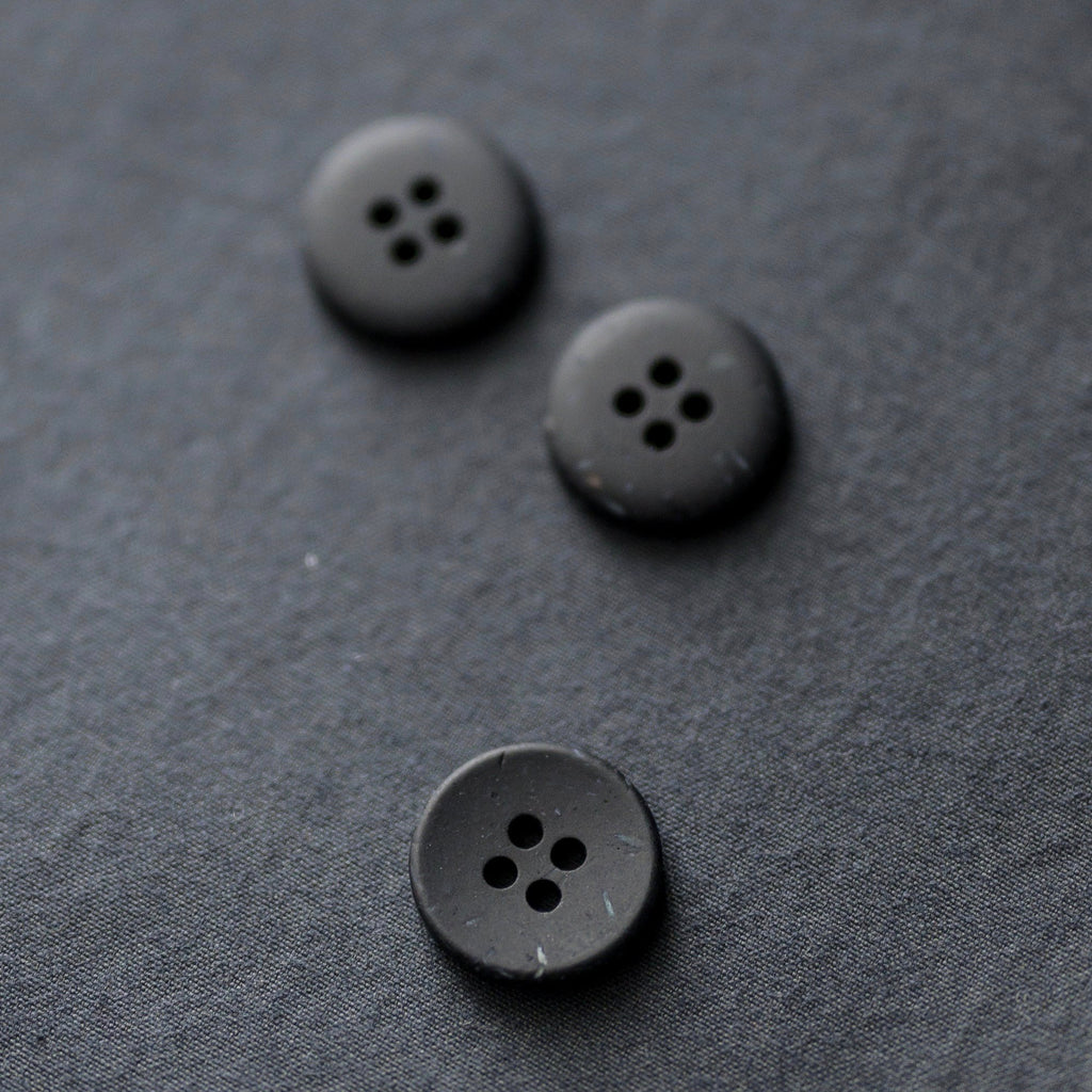 Merchant and Mills -  Inky Speckles Buttons, 18mm