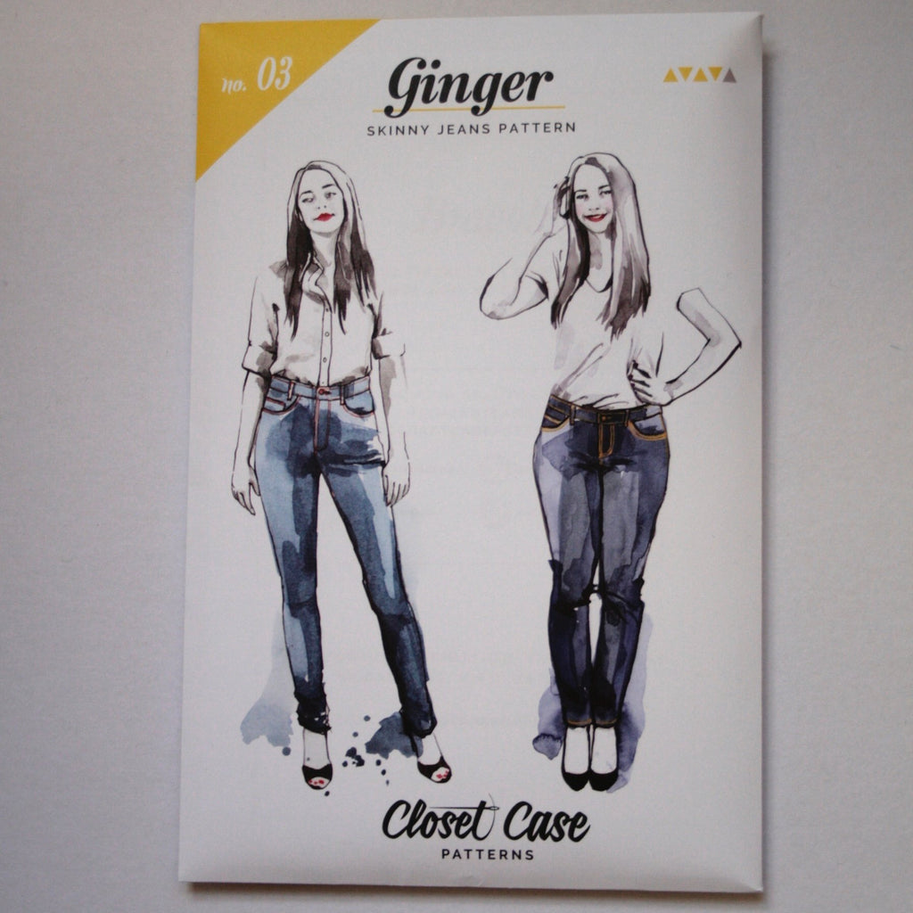 Ginger Jeans pattern by Closet Case
