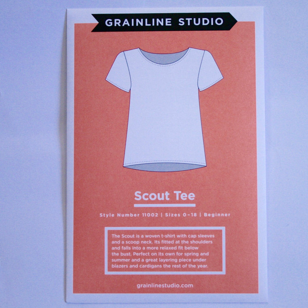 Grainline Scout Tee for woven fabrics