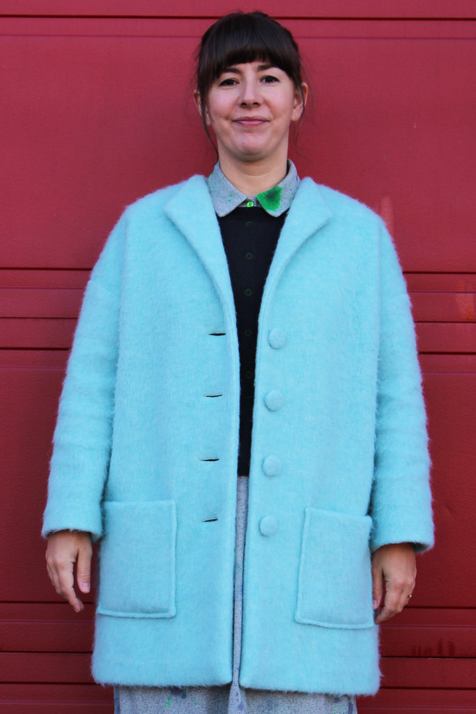 Honetone Coat pattern by Marilla Walker