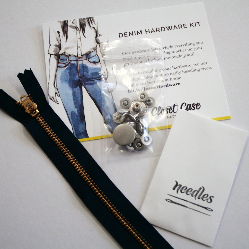Jeans Hardware Kit by Closet Case Patterns