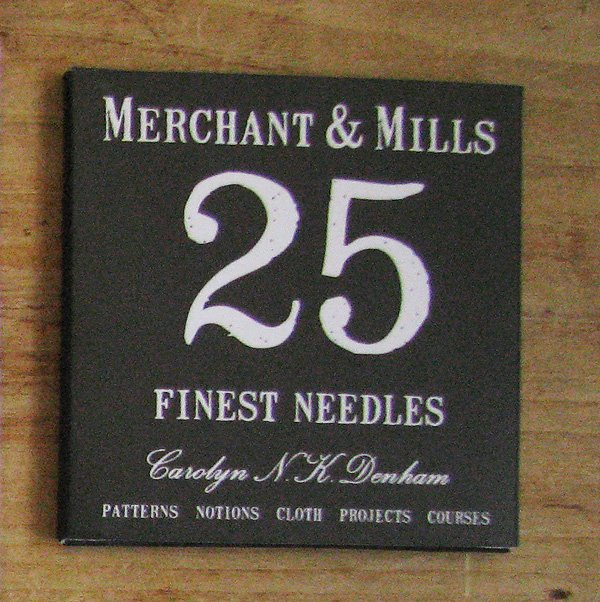 Merchant and Mills - finest needles