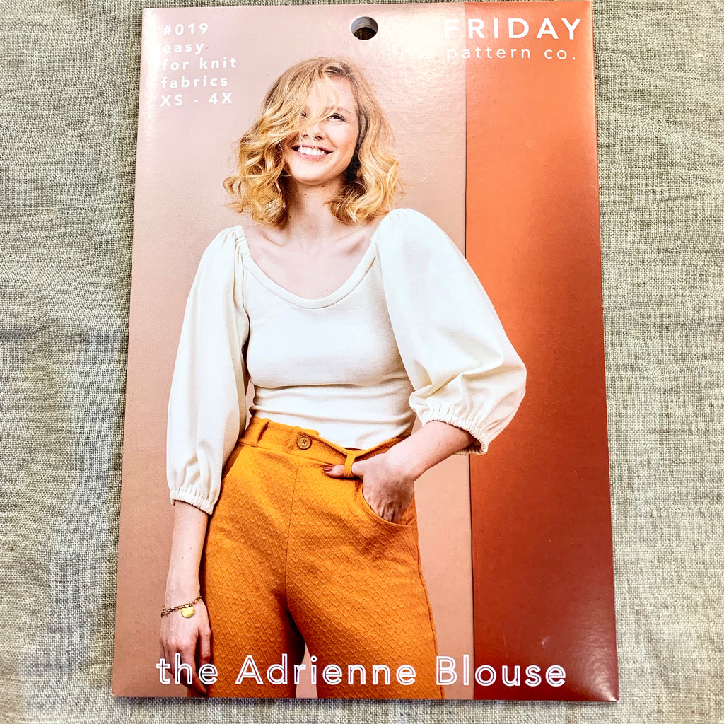 Friday Pattern Company - The Adrienne Blouse