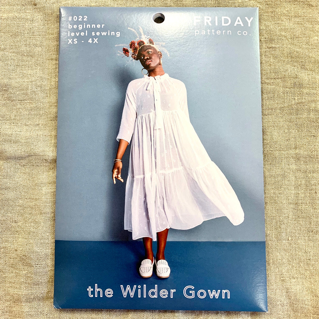 Friday Pattern Company - The Wilder Gown
