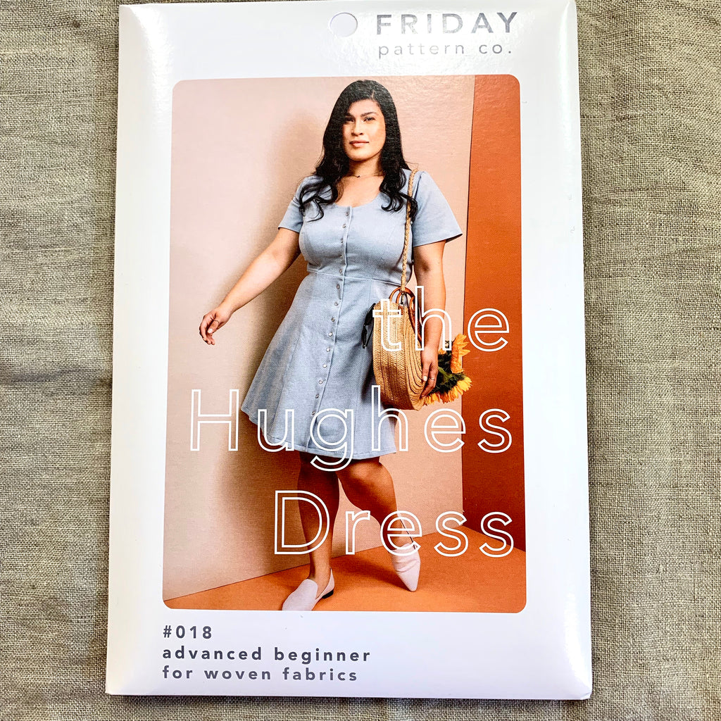 Friday Pattern Company - The Hughes Dress