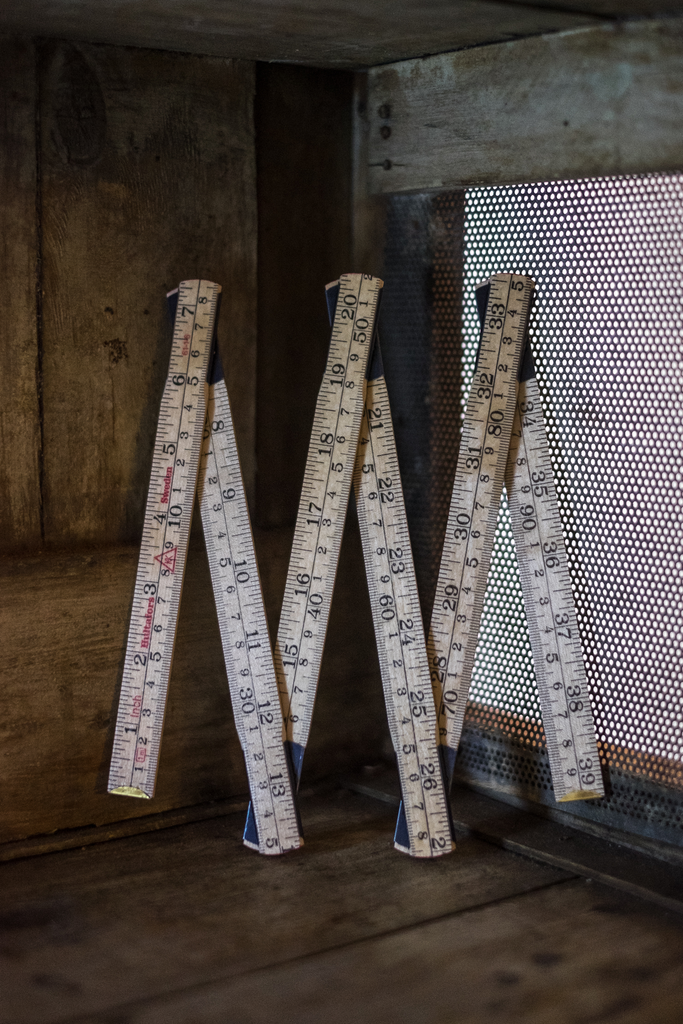 Wooden Folding Ruler - Merchant and Mills