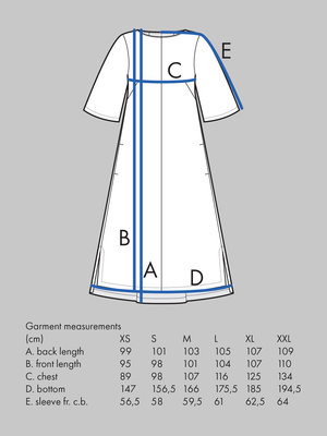 Box Pleat Dress pattern - The Assembly Line