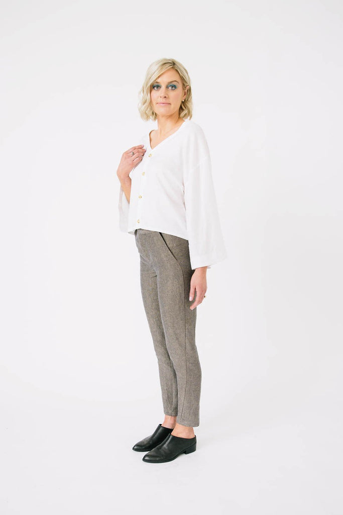 Twist Pants by Papercut Patterns