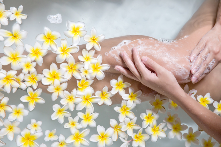 Do you know that you can use Extra Virgin Olive Oil as bath oil?