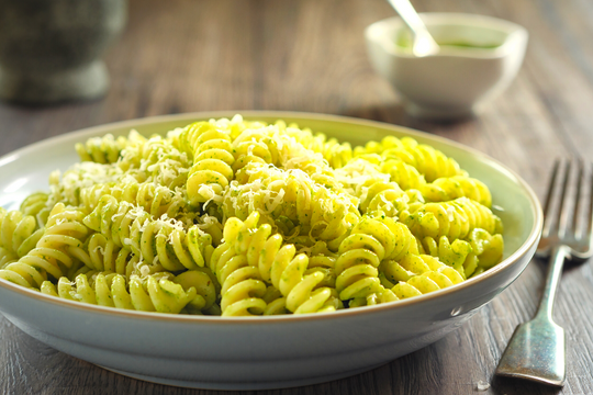 Pasta Genovese - light and delicious