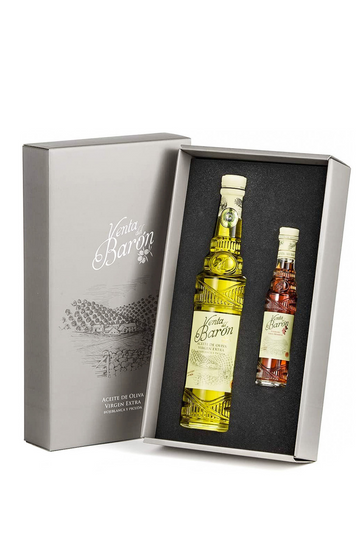 Venta del Barón Giftbox - Olive Oil &  Vinegar