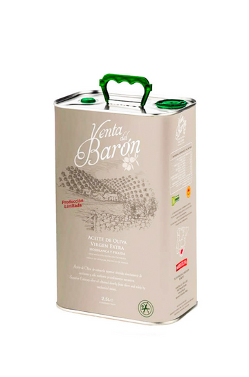 Venta del Barón Extra Virgin Olive Oil, 2.5 L Tin