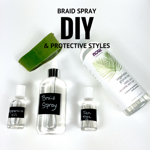 Easy DIY Braid Spray