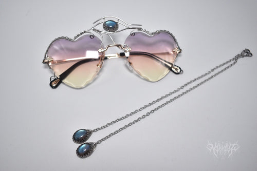 Eye of Horus Sunglasses decorated with silver #200804
