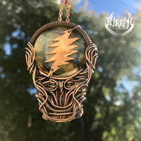 Stealy II Grateful Dead Copper Pendant