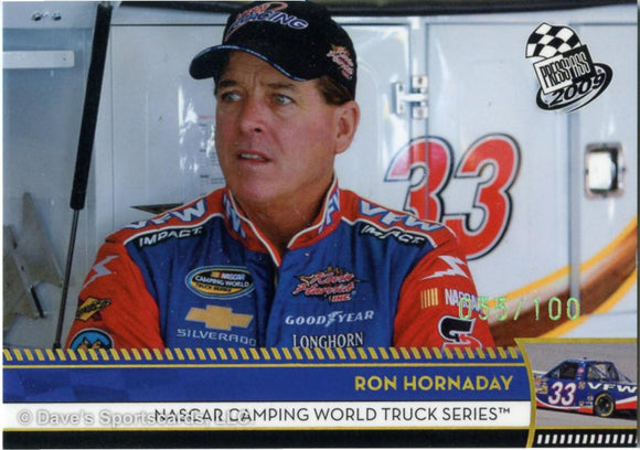 2002 Press Pass #14 Ron Hornaday Racing Card Sports Mem, Cards & Fan Shop Auto Racing Cards