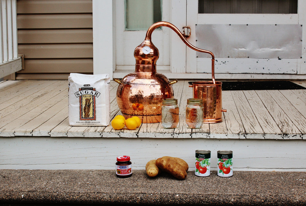 Making Moonshine or Whiskey at home has never been easier and it's high time you got a batch started!