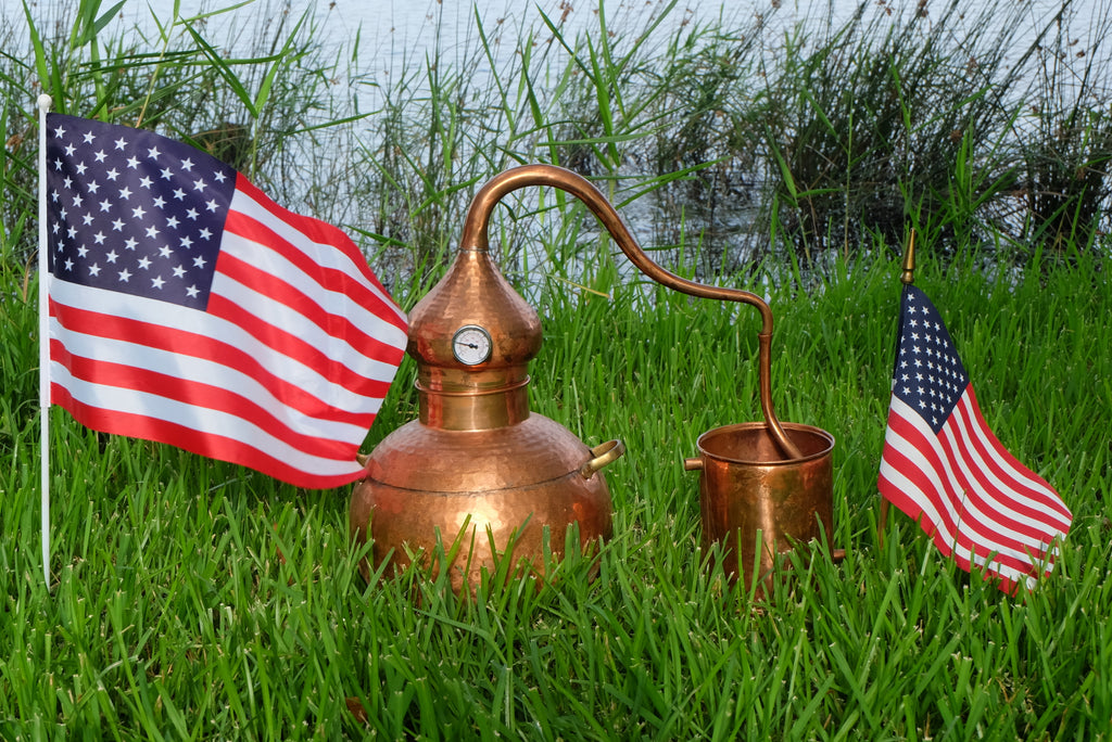 Basic Corn Whiskey: A 4th of July Special