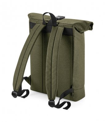 Bagbase 100% Recycled Rolltop Backpack