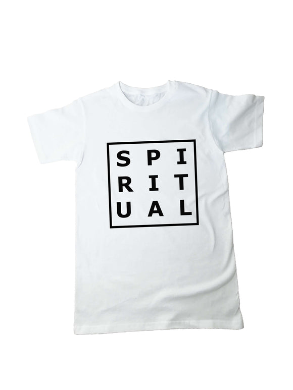 Spiritual T Shirt - One Planet Mind