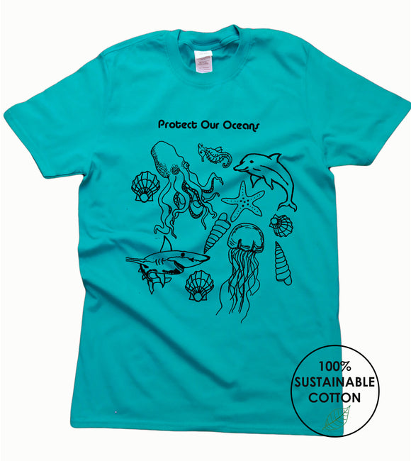 Protect Our Oceans Eco T Shirt