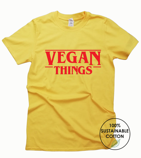 Vegan Things T Shirt