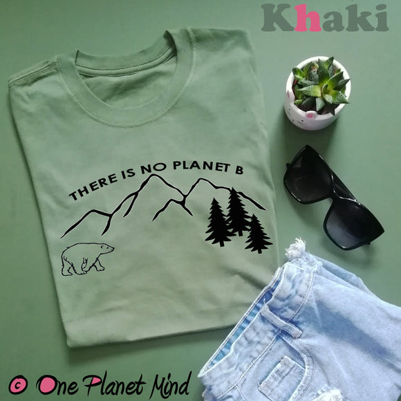 There is no planet B Shirt - Cotton - Unisex