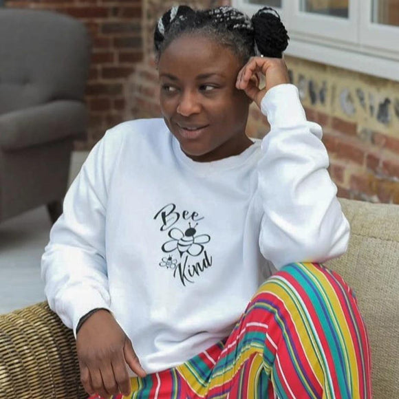 Bee Kind Organic Sweatshirt