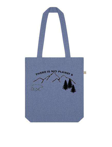 There Is No Planet B Recycled Tote Bag - One Planet Mind