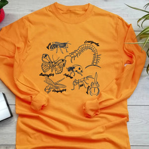 Insects Long Sleeve Eco T Shirt