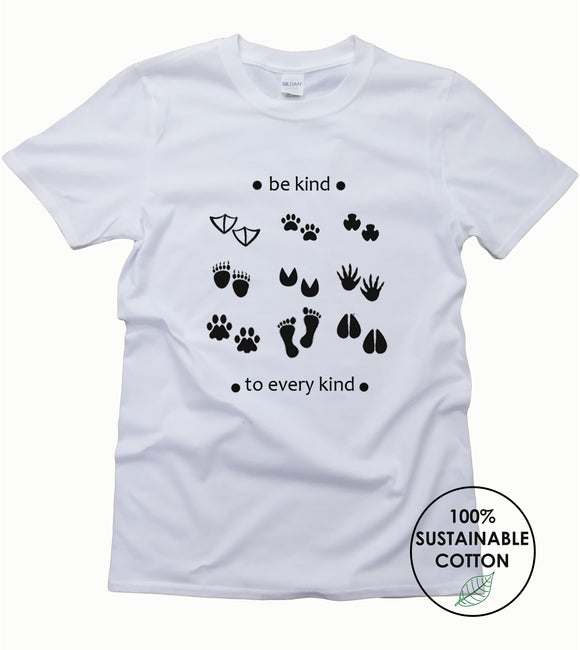 Be Kind to Every Kind Eco T Shirt
