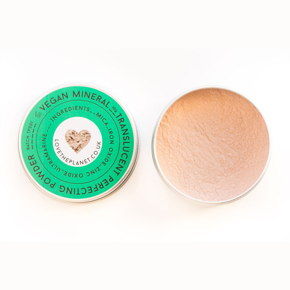 Vegan Translucent Perfecting Powder – Refillable Tin (10g)