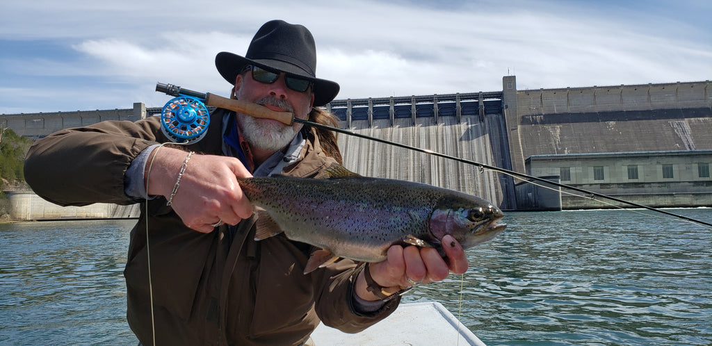 South Holston Fly Rod on Big Water