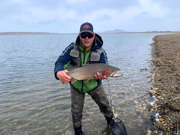 Andy Stutz with Monster Rainbow